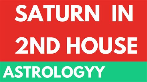 saturn in the second house saturn in second 2nd house from lagna in vedic astrology