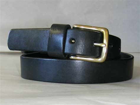 west end leather belt green gallery