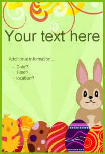 easter poster templates editable easter poster 2 free early years primary
