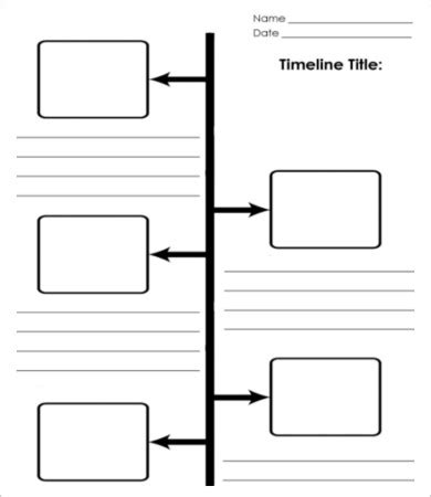 7 Blank Timeline Templates Free Sle Exle Format Download Free Premium Templates Vertical Timeline Template