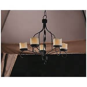 flameless candle chandelier wilson fisher 174 led flameless candle chandelier at big