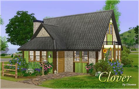 Sims 3 Cottage by Mod The Sims Clover Cottage Starter 18 500 No Cc