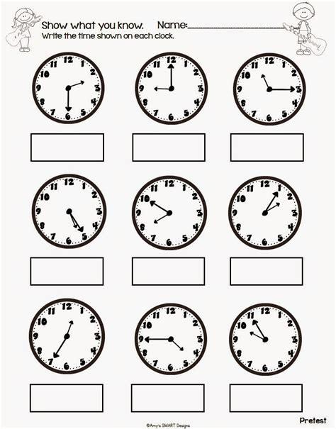 active learning rockin sheets the clock worksheets slide