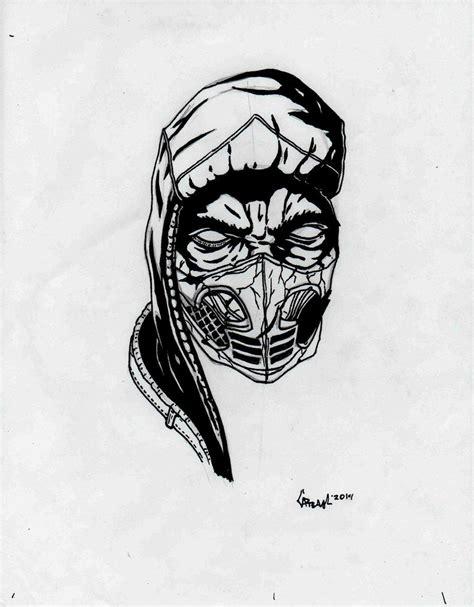 Mortal Kombat X Sketches by Scorpion Mortal Kombat X Sketch By Tefenthescorpion On