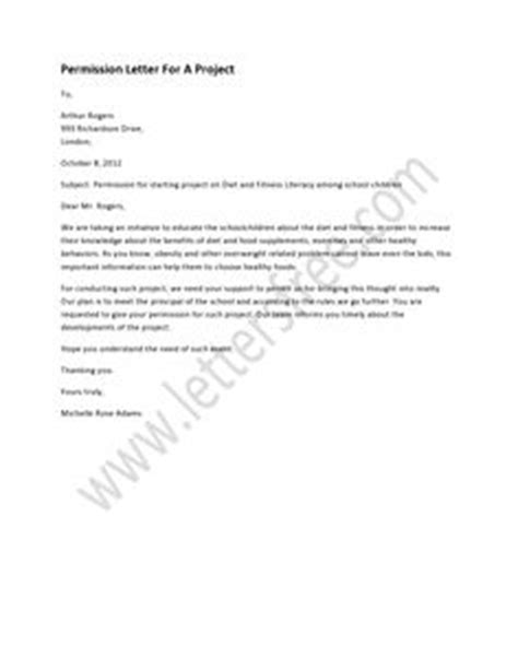 Permission Letter Given By Company For Project 1000 Images About Sle Permission Letters On Letters Field Trips And A Project