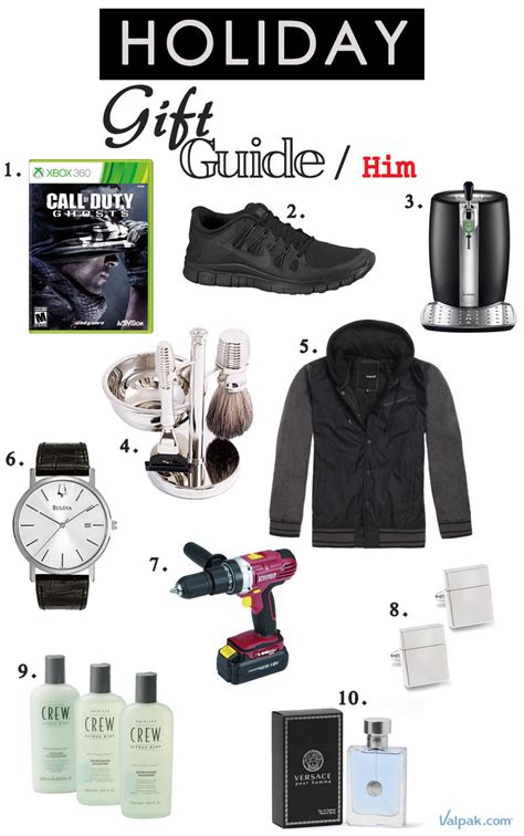 holiday gift guide for him behind the blue