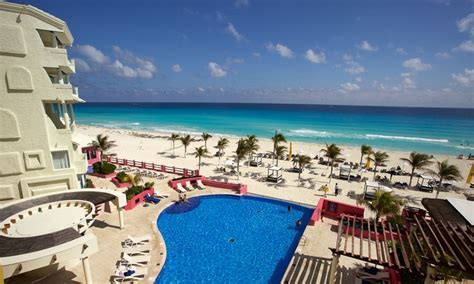 all inclusive hotel nyx canc 250 n stay with airfare from travel by jen in cancun groupon getaways