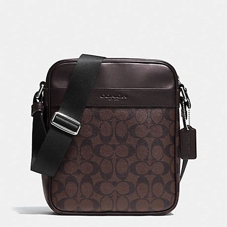Coach Sling Bag Mahogany coach f71764 flight bag in signature mahogany brown coach