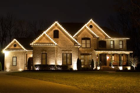 homes with lights residential light installations nashville