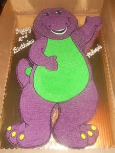 25 barney birthday cake ideas