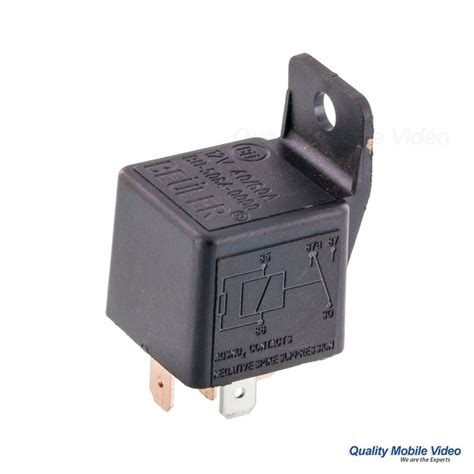 beuler bu5084 waterproof 12 vdc automotive 5 pin relay