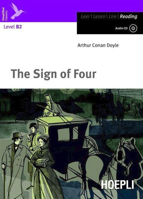 libro the sign of the the sign of four conan doyle arthur libro hoepli editore