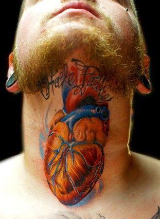 heartbeat tattoo guy 6 latest real human heart tattoos