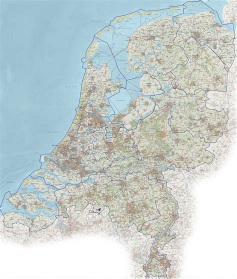 netherlands motorway map netherlands motorway map