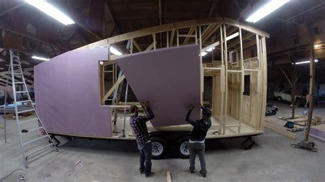 diy tiny house build  motion shed tiny house