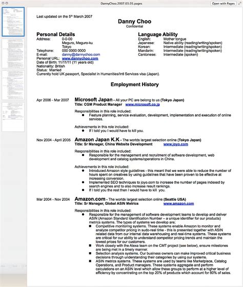 Resume Template On How To Write A Resume Resume Cv
