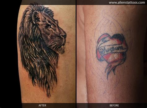 lion tattoo ideas cover up design idea for collection of 25 cover up design