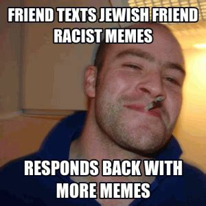 Purim Meme - racist jewish jokes kappit