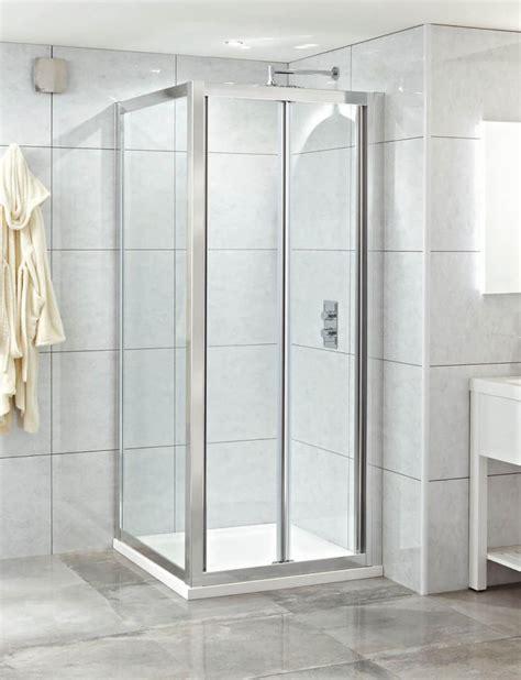 Phoenix Spirit 800mm X 2000mm Clean Glass Bi Fold Shower Bi Fold Shower Door 800mm