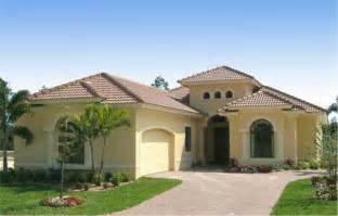 Icf Concrete Home Plans by Mediterranean Home Design House Plan 133 1029