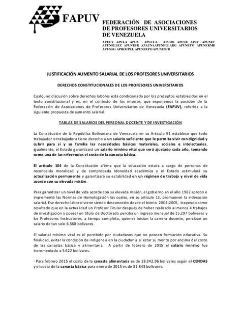 aumento salarial 2015 inicio justificaci 243 n aumento salarial de los profesores