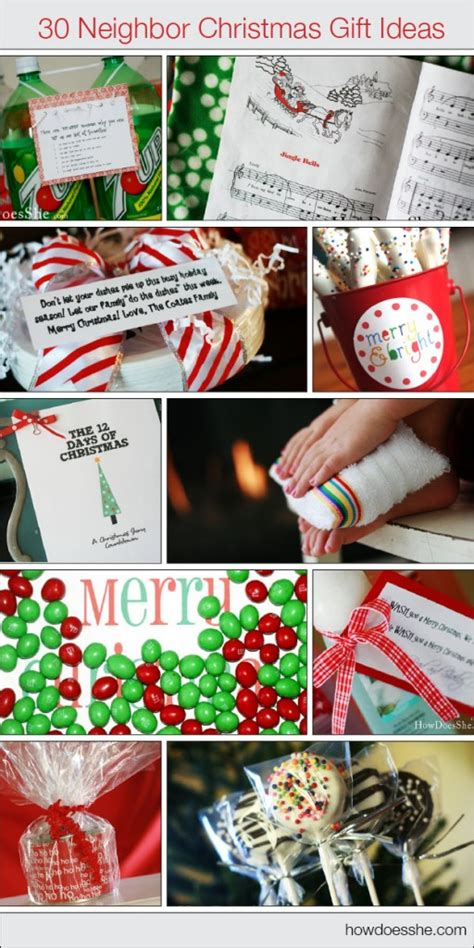30 christmas neighbor gift ideas how does she