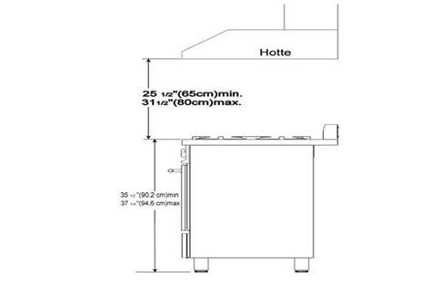 Hauteur D Une Hotte 879 by Installation De La Hotte D 201 Vacuation Schema Electrique