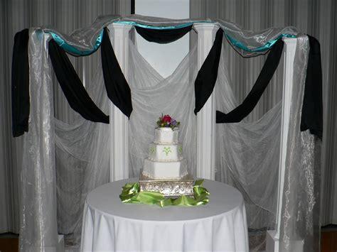 cake table backdrop pin cake table backdrop draping wedding cake on