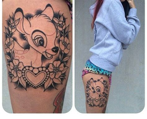 bambi tattoo best 25 ideas on