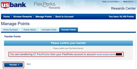 flexperks us bank new us bank flexperks transfer process combine us