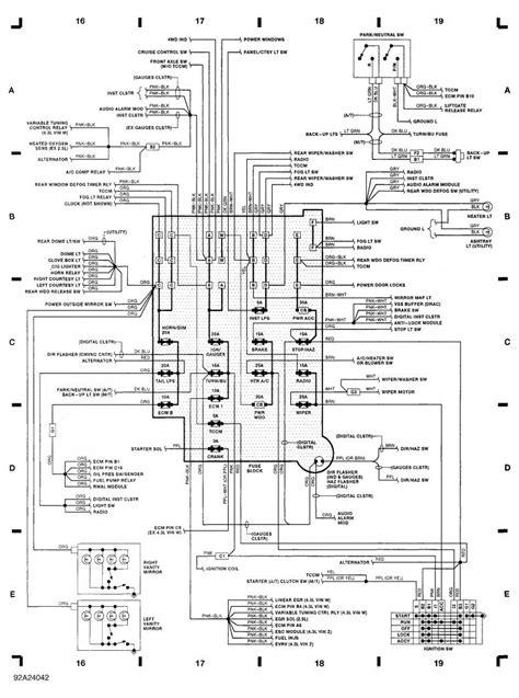 2000 chevy s10 light wiring diagram ewiring