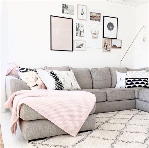 decoracion hogar gris decoraci 243 n en gris y rosa decor sofa salones