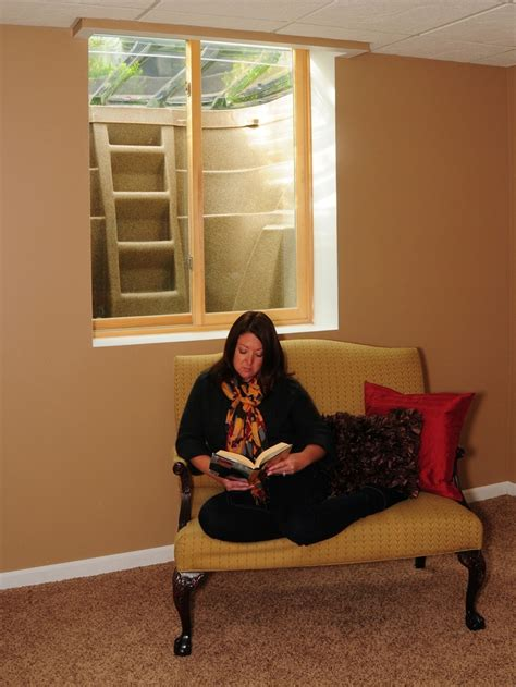 brighten up your basement with an egress window well up