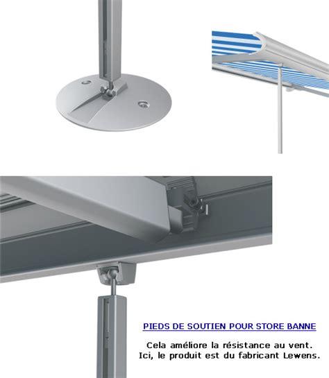 Store Banne Sur Pied 7723 by Je Recherche Des Pieds R 233 Glable Et Amovible Pour Store Banne