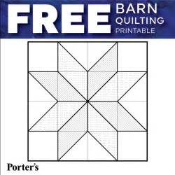 What Is A Barn Quilt Video Barn Quilting Tutorial Amp Printable Freebie Porter