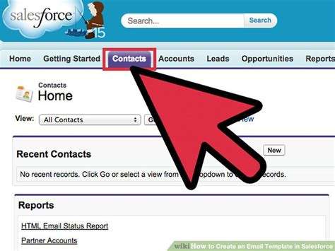 create html email template how to create an email template in salesforce 12 steps