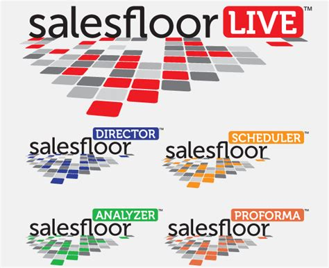 salesfloorlive tradeshow website brand collateral