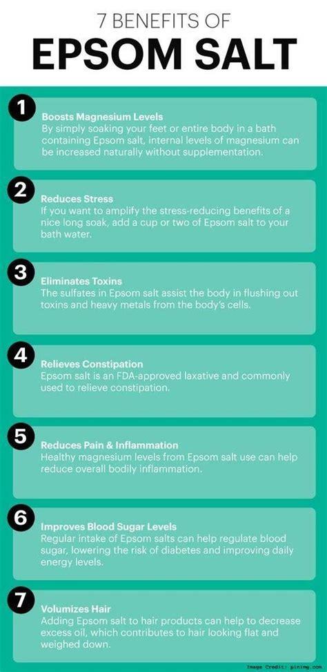health benefits of salt ls top 10 benefits of epsom salt bath soaking https www