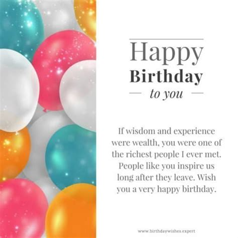 Professional Birthday Wishes Quotes Professional Birthday Wishes