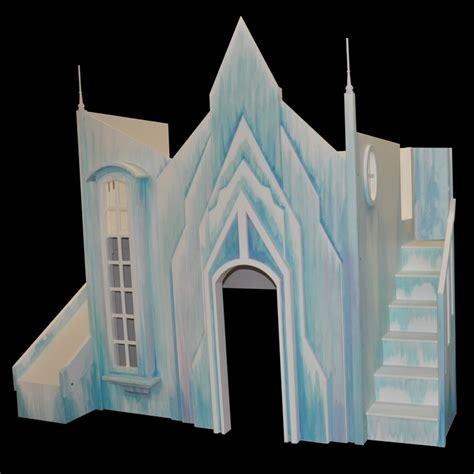 frozen ice castle bunk bed designed  tanglewood