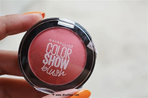 maybelline colorshow blush maybelline color show blush fresh coral review likes