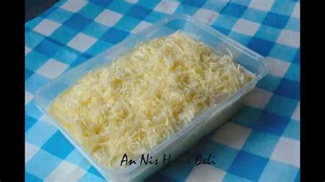 cara membuat pandan cheese cake cara buat cheese leleh