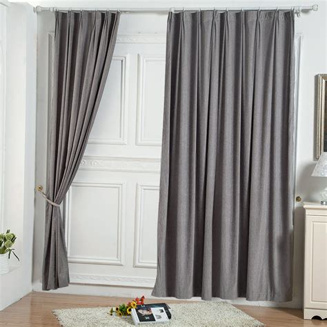 curtains grey two panels elegant solid grey bedroom curtains