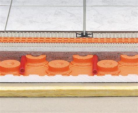spessore massetto riscaldamento a pavimento il riscaldamento a pavimento termoclimatizzato a basso
