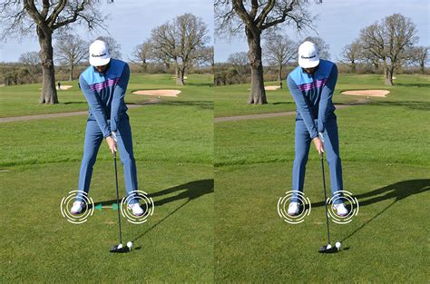 golf swing ball position narrow your stance to draw the ball