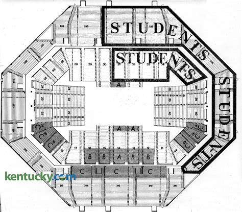 rupp arena floor plan rupp arena floor decals thefloors co