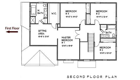 second floor floor plans floor plans second floor ml homes