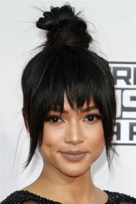steal her look 1 classic donut hairstyle natural hair style karrueche tran hair steal her style