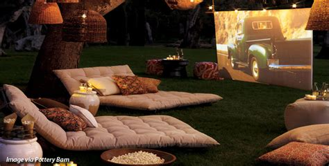 how to make a backyard movie screen how to create a backyard movie screen coldwell banker