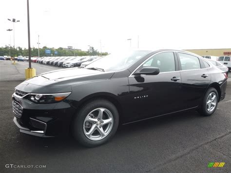 and black ls 2017 mosaic black metallic chevrolet malibu ls 115563239